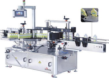 Double Side Automatic Sticker Labeling Machine 45m/min Speed