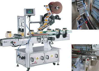 China Seal Labeling Machine Top Labeler Labeling Machine For Top / Top To Side supplier