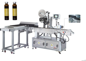 High Accurate Vial Sticker Labeling Machine For Phamaceutical Industry