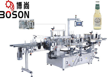 High Speed Adhesive Labeling Machine Linear Front / Back / Top side