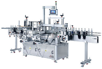 China Self Adhesive Labeling Machine For Plastic Pet Bottle , Bottle Label Applicator Machine supplier