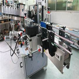 Oval Bottle Labeling Machine , Sticker Label Applicator Shampoo And Detergent Labeller