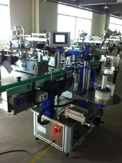 Full Automatic Sticker Label Applicator , Bottle Labeling Machine With CE Certification