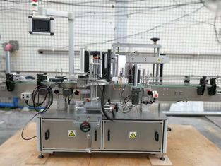 Oil Bottle Front And Back Labeling Machine Automatic Lubricant