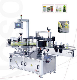 Automatic Label Applicator Machine For Round And Flat Bottle Label Applicator