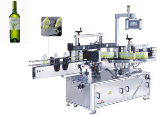 Chile Santa Maria Beer Bottle Label Applicator , Wine Bottle Labeler Machines