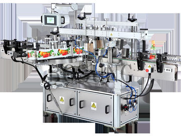Sticker applicator machine , Neck / front  and tower double wrap round Labeling Machine