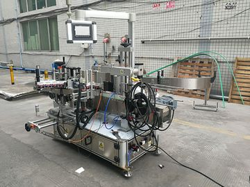 Full Automatic Adhesive Double Side Bottle Labeling Machine With Coder