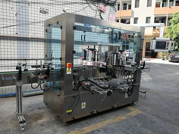 Round Glass Bottle Rotary Sticker Labeling Machine ,  200 Bottle Per Minute