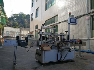 Adhesive One Side Flat Bottle Labeling Machine High Accuracy